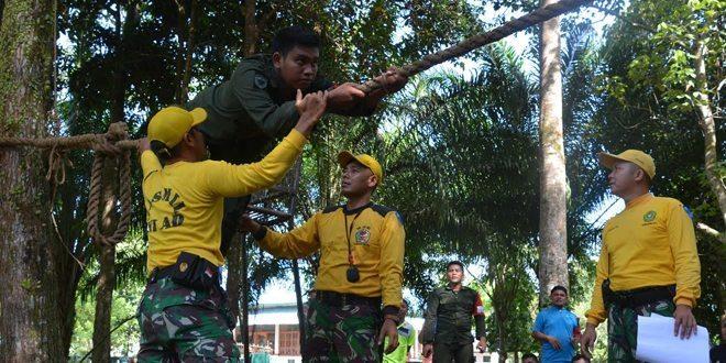 Mewujudkan Persatuan Dan Kesatuan Bangsa Korem 012/TU Gelar Outbound