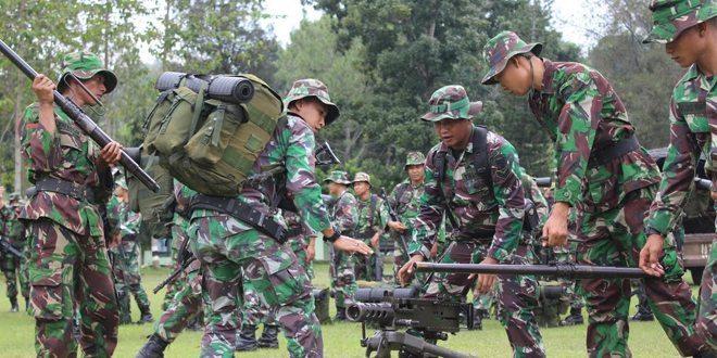 Latihan Protap Alram, Langkah Preventife Melatih Kesigapan Prajurit Antisipasi Bangsit