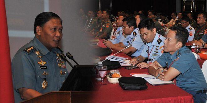 Pusat Pengendalian Operasi TNI Gelar Rapat Koordinasi