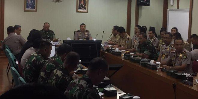 Pangdam Jaya Pimpin Rakor Penertiban Kawasan Kalijodo
