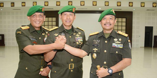 Sertijab Dankodiklat TNI AD dan Pangdam IM