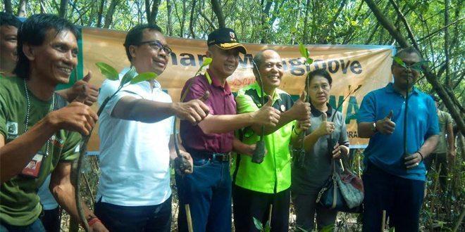Pangdam V/Brawijaya Ajak Wartawan Diskusi Bela Negara dan Tanam Pohon Mangrove