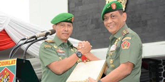 Mayjen TNI Agus Kriswanto Terima Memorandum Pelaksanaan Tugas Di Kodiklat TNI AD