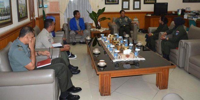 Danrem 061/SK Terima Audiensi Menwa Universitas Pakuan Bogor