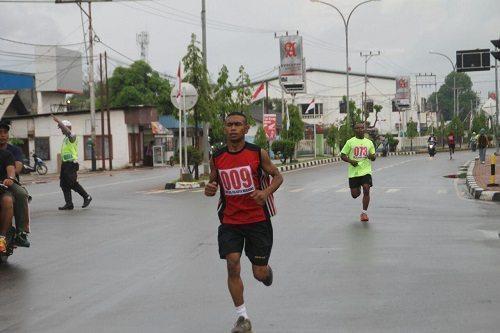 Prajurit TNI-AD Mendominasi Juara Lomba Lari 10 K, Memperingati HUT Ke-114 Kota Merauke