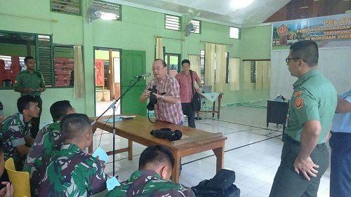 Pelatihan Operasional & Uji Fungsi Teropong Tob-01 Kodam XVII/Cenderawasih