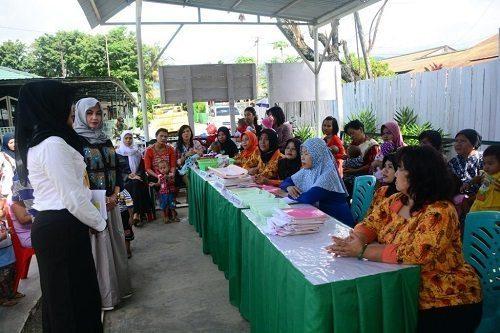 Peduli Anak Bangsa, Posyandu Mimosa Korem 172/PWY Aktif Ikuti Perkembangan Balita