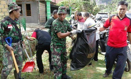 Karya Bhakti Massal Dalam Rangka Menyambut Hut Kota Jayapura Ke 106