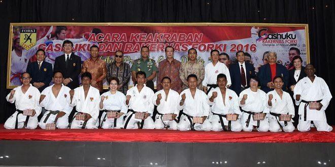 Jenderal TNI Gatot Nurmantyo Tutup Rakernas Forki