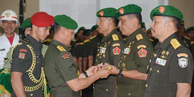 Jabatan Dankodiklat TNI AD dan Pangdam IM Diserahterimakan