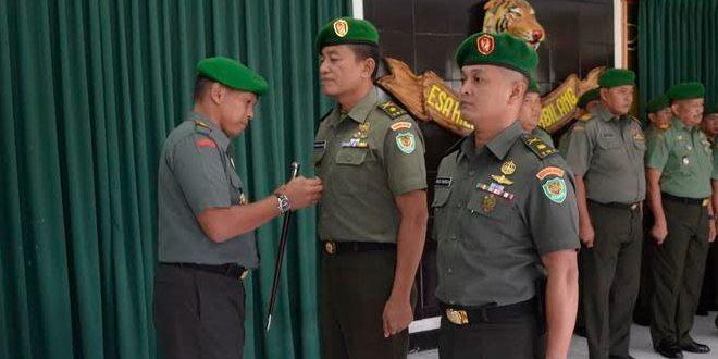 Dandim 0615 Pimpin Korp Raport Kasdim