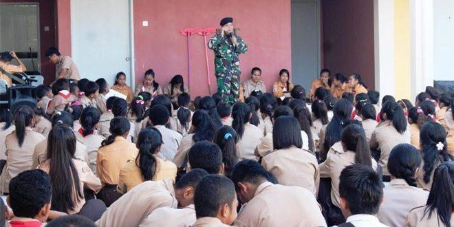 Perwira ILO TNI di Kota Kinabalu Berikan Bimbingan Mental