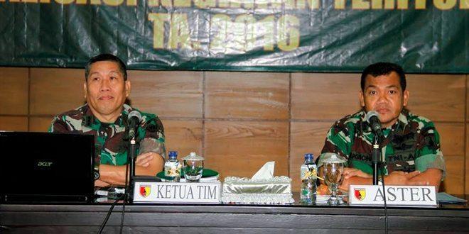 Kodam V/Brawijaya Gelar Sosialisasi Program Bakti TNI TA. 2016