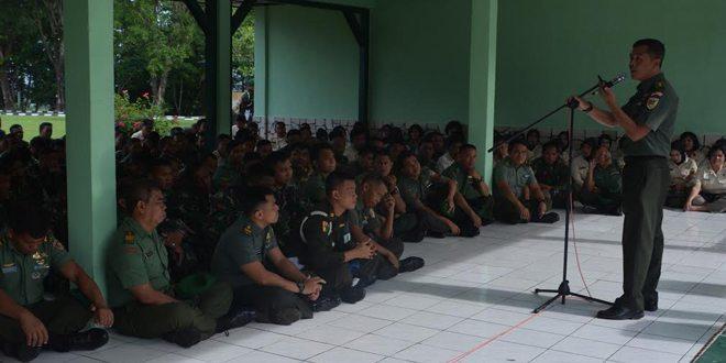 Letkol Inf. Unang Sudargo Resmi Jabat Kasrem 142/Tatag