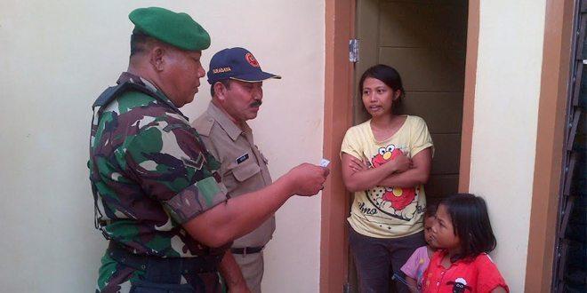 Koramil dan Petugas Gabungan Gelar Operasi Yustisi Di Benowo Surabaya