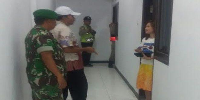 Koramil dan Petugas Gabungan Gelar Operasi Yustisi Di Pabean Cantain