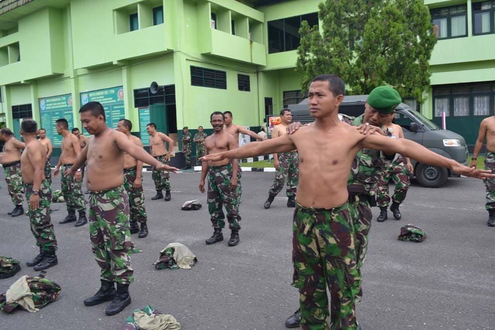 Dilarang Prajurit dan PNS TNI Melakukan Tato