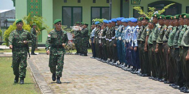 Danrem 121/Abw Gelar Gelar Pasukan Pengamanan VVIP