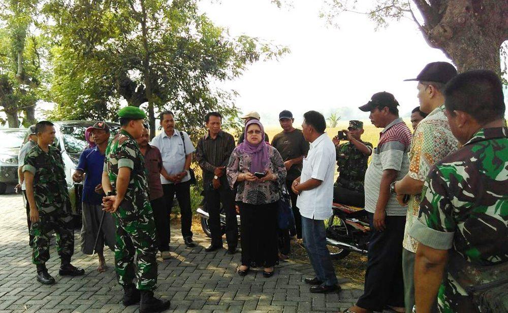 Dirjen PSP Kementerian Pertanian R.I Kunjungi Kodim Bojonegoro