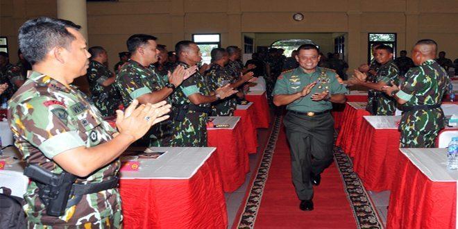 Panglima TNI: Waspadai Adu Domba TNI – Polri
