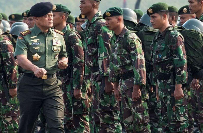 PPRC TNI Latihan Amankan Obyek Vital Kilang Minyak di Tarakan