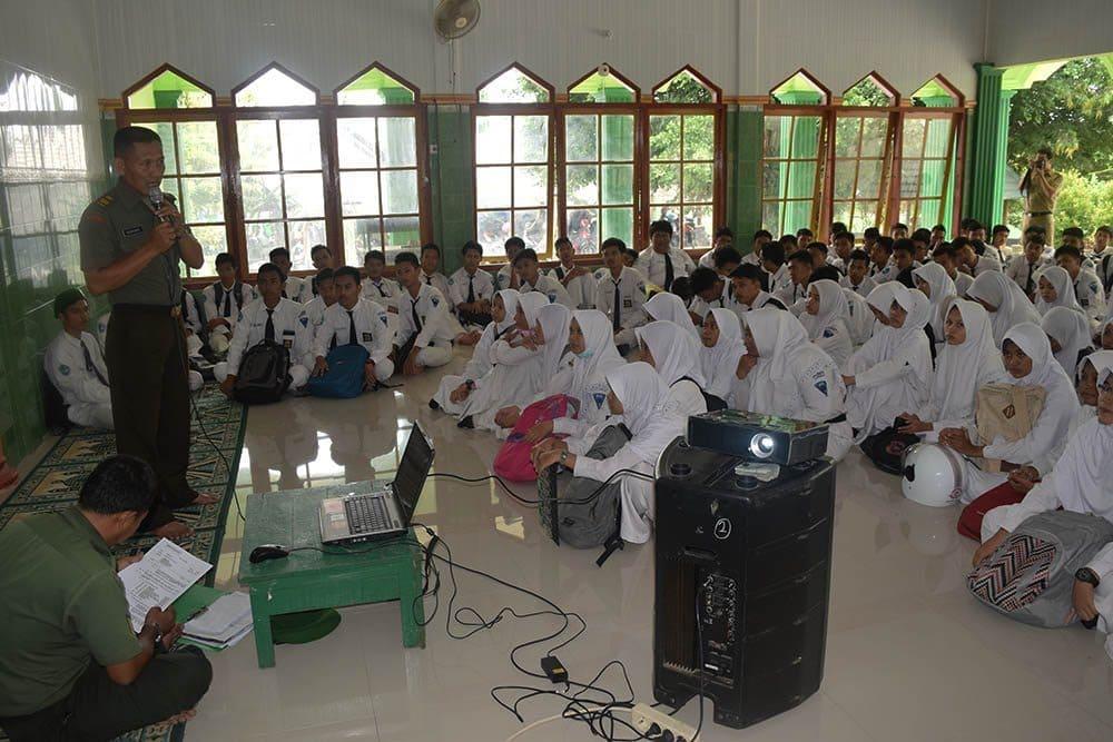 Kodim 0811/Tuban Kampanye Rekrutmen Calon Prajurit TNI AD