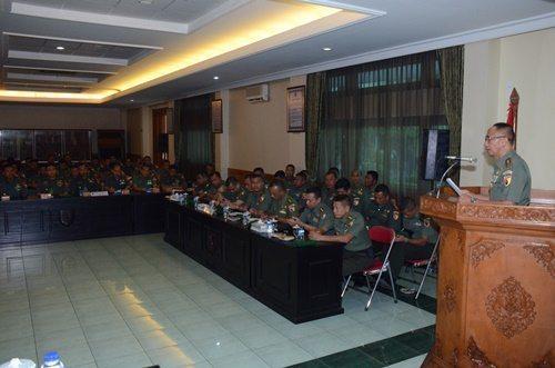 Kodam V/Brawijaya Gelar Penataran Mobile Training Team (MTT) Hukum