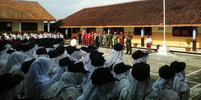 SMP dan SD Satu Atap Bandungrejo Menerima Wawasan Kebangsaan