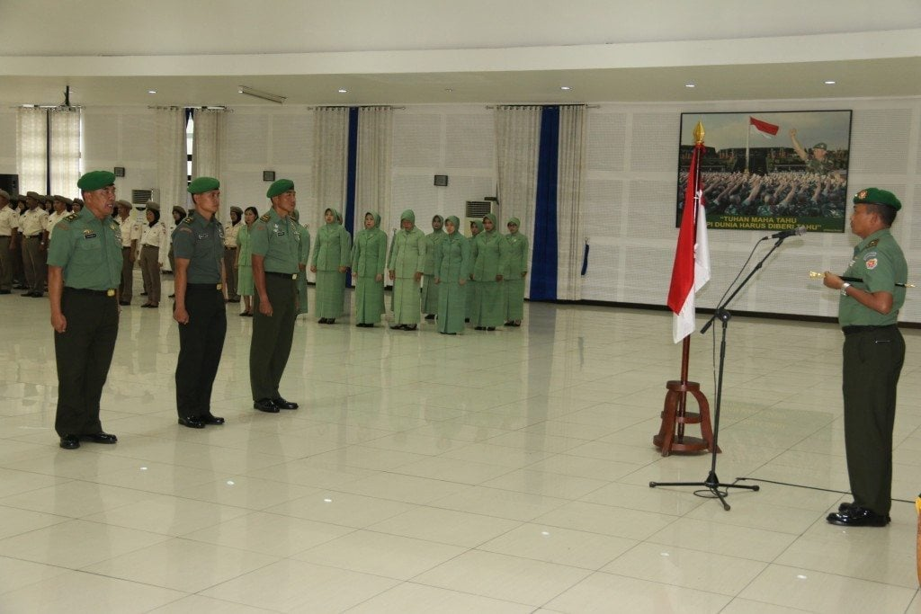 Korps Raport Perwira Secapaad Pindah Satuan