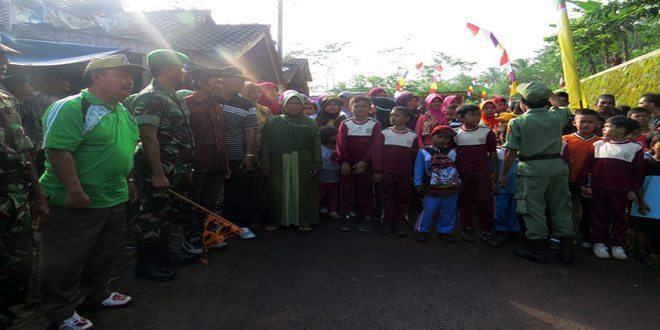 Dandim 0713/Brebes Jalan Santai Bersama Masyarakat Bulakcaringin