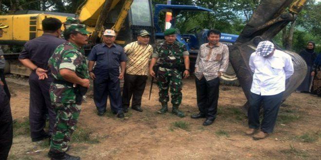 Kodim 0113/Gayo Lues Bekerjasama Dinas Pertanian Buka 133 Lahan Sawah