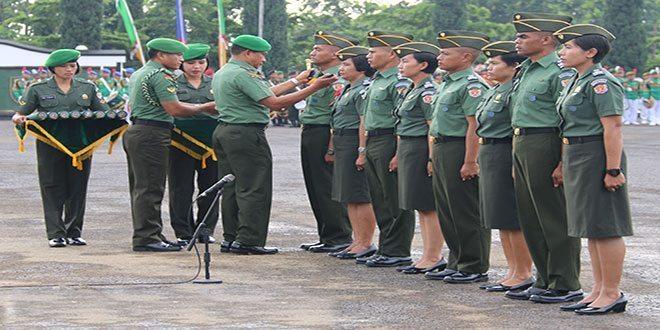 Kenaikan Taraf II Pasis Diktukpa TNI AD