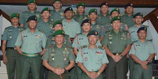 Panglima 5 Briged Tentera Darat Malaysia Kunjungi Kodam VI/Mlw