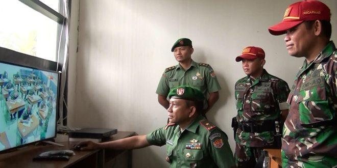 Dan Secapa Tinjau Pasis Diktukpa TNI AD Saat Melaksanaan Ujian