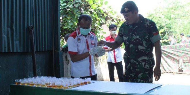 BNN Kab. Malang Mendadak Tes Urine Prajurit Denpal 2 Divif 2 Kostrad