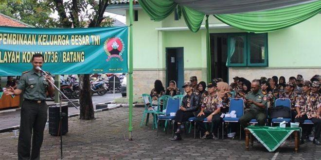 Pembinaan Anggota FKPPI Oleh Dandim 0736/Batang