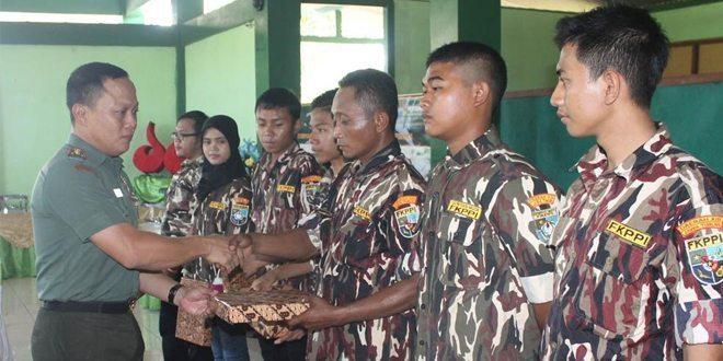 Dandim Bojonegoro, Lantik Pengurus Rayon GM FKPPI