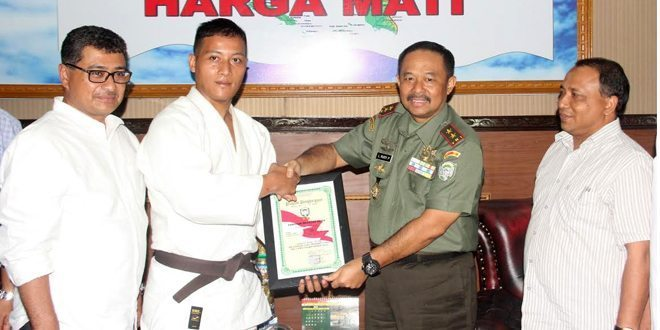Satu Lagi Prajurit Kodam Iskandar Muda Harumkan Prov. Aceh