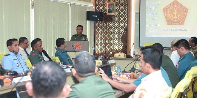 Kapusku TNI : Personel TNI Patuh Terhadap Pajak