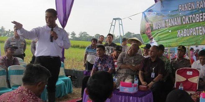 Kunjungan Kerja Menteri Pertanian RI Di Tanjung