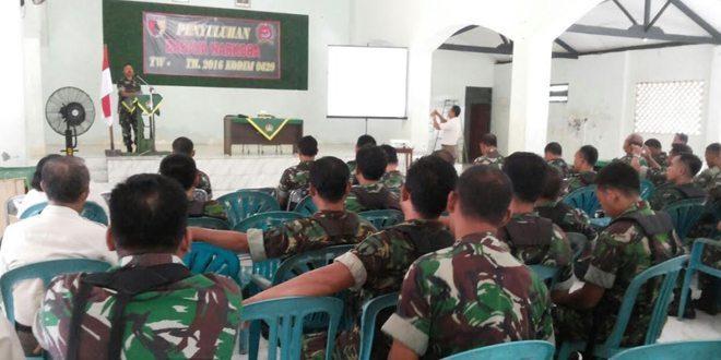 Kodim 0829/Bangkalan Gelar Sosialisasi Bahaya Narkoba