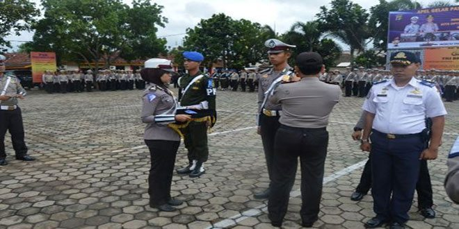 Denpom II/3 Lampung Ikut Terlibat Operasi Simpatik Krakatau Polda Lampung 2016