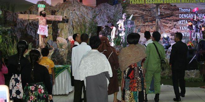 Perayaan Paskah Tahun 2016 di Secapaad