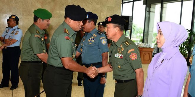 Panglima TNI : Kenaikan Pangkat Jadikan Sumber Motivasi