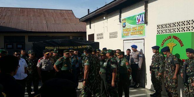 Panglima TNI Tinjau Lokasi Jatuhnya Helly Bell 412 EP