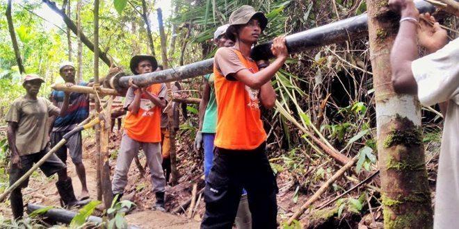 Pembuatan Jalur Pipa Air Bersih