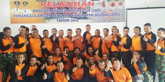 Kodim Bojonegoro Ikuti Pelatihan Penanggulangan Bencana