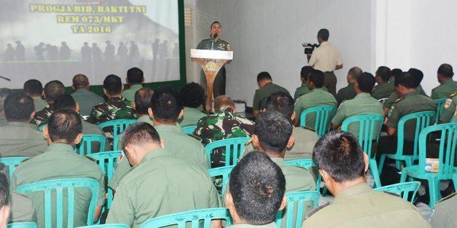 Bhakti TNI Makorem 073/Makutarama