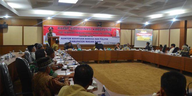 Dandim 0116 Paparkan Peran TNI dalam Mencegah Kerawanan Konflik Sosial