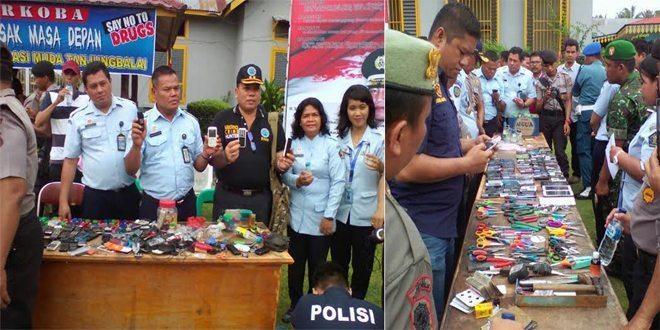 Razia Narkoba Dan Sajam Di Lapas Tanjung Balai